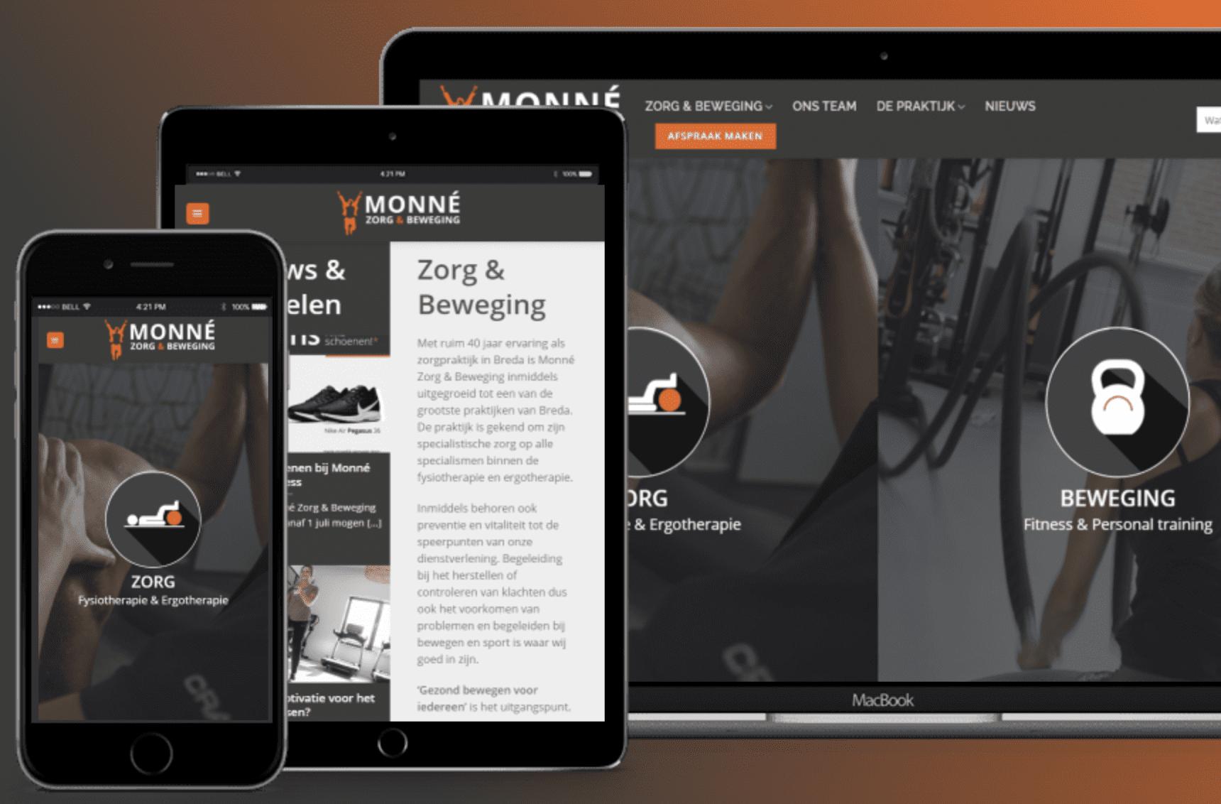 Nieuwe website Monné, cropped | ROI verhogen Breda