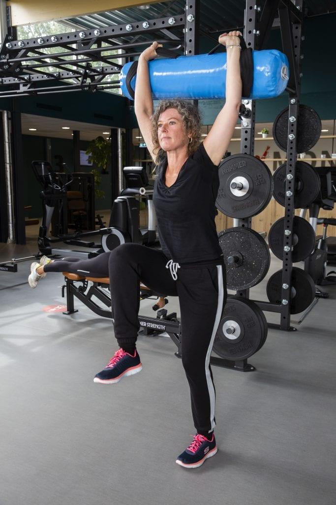 Vrije Training, Gewichtszak   Monné Zorg & Beweging Breda