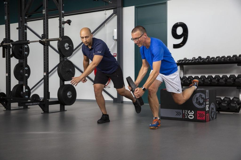 Personal Training, Bulgarian Split Squat   Monné Zorg & Beweging Breda