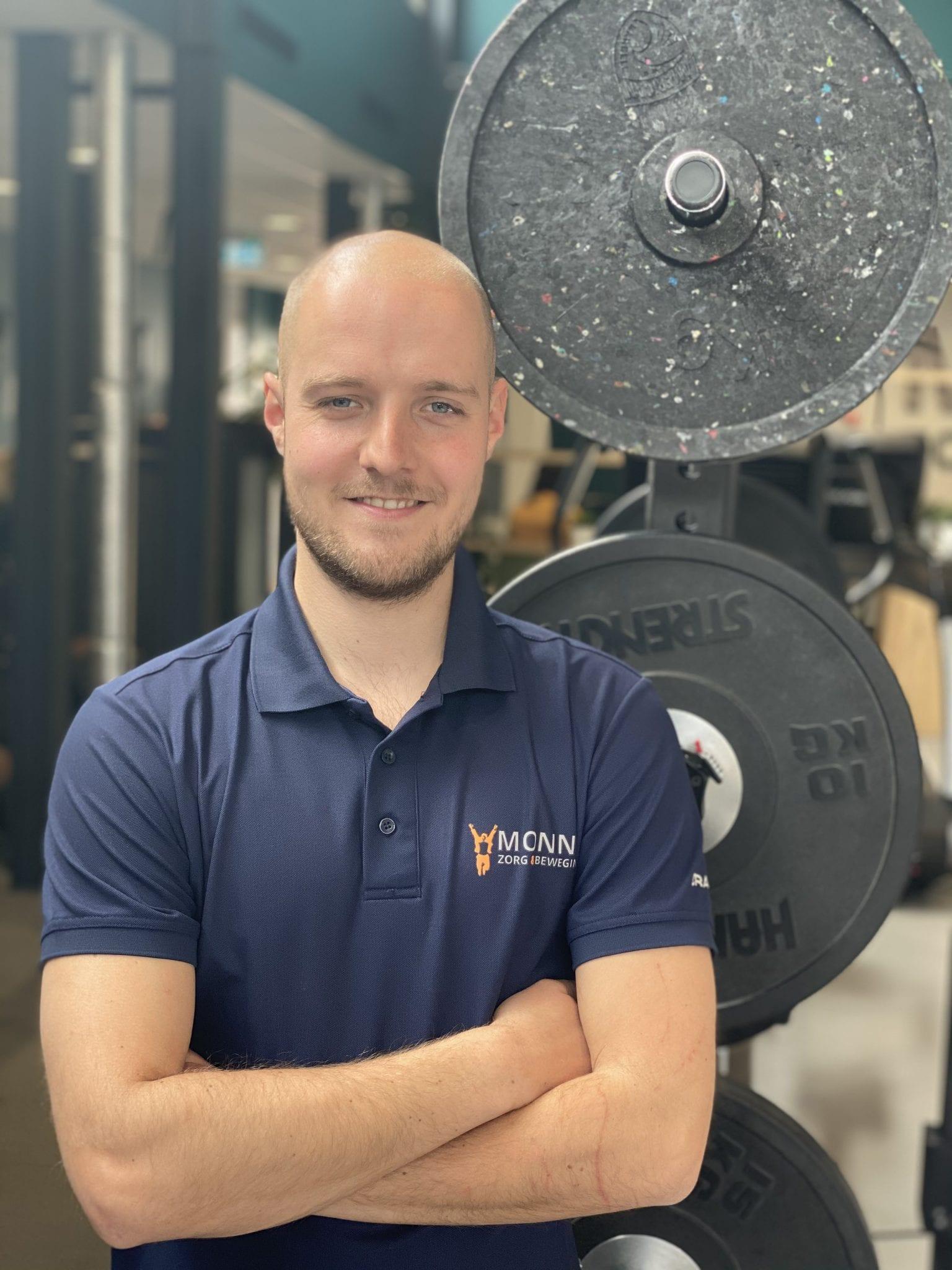 Jasper Trommel, Fysiotherapie | Monné Zorg & Beweging Breda