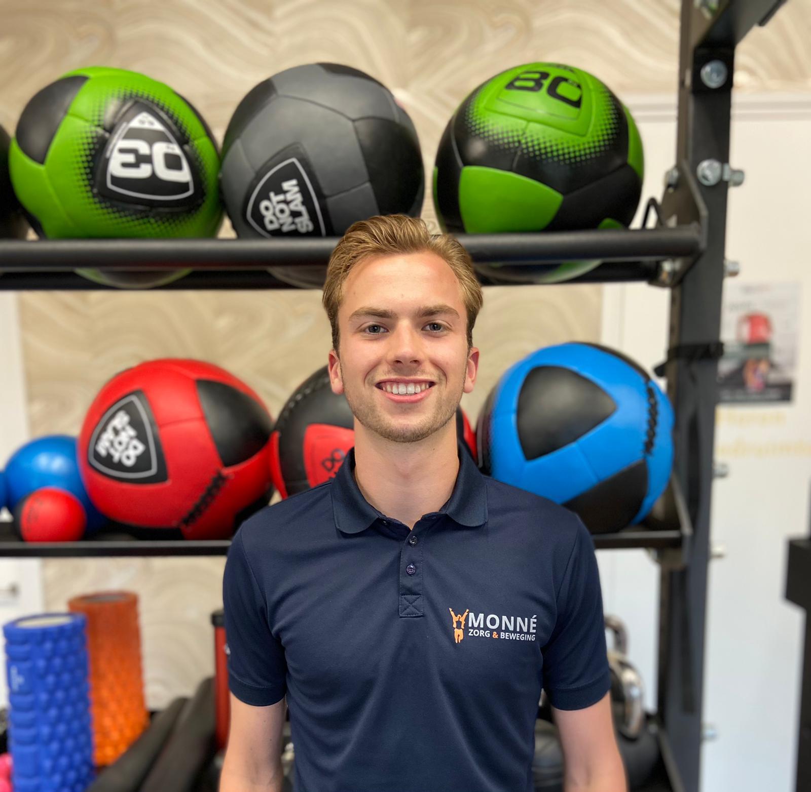 Daan Mesu, Fitness Trainer | Monné Zorg & Beweging Breda